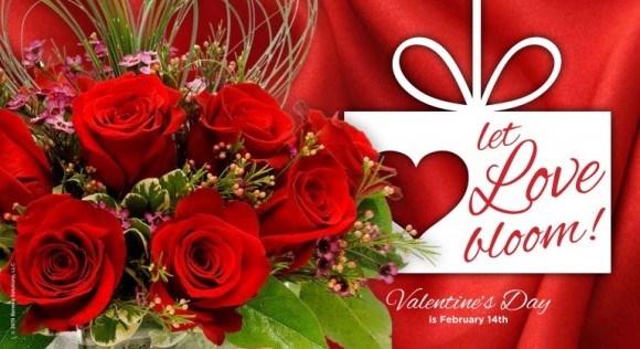 на день святого Валентина